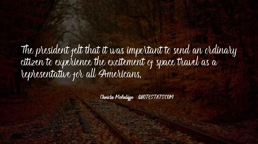 Christa Mcauliffe Quotes #425329
