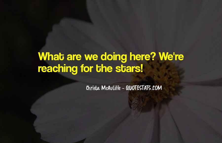 Christa Mcauliffe Quotes #532760