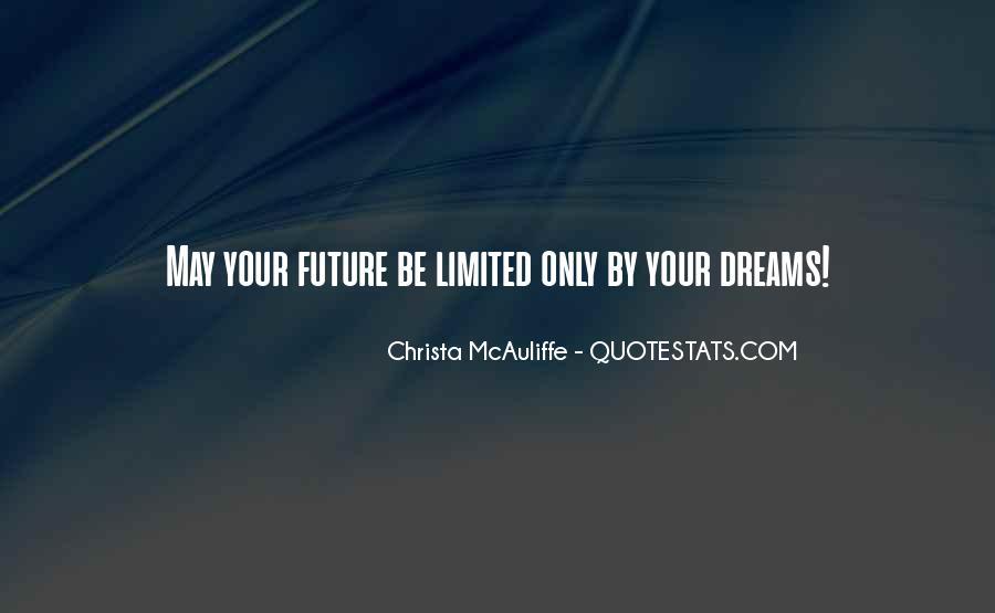Christa Mcauliffe Quotes #553603