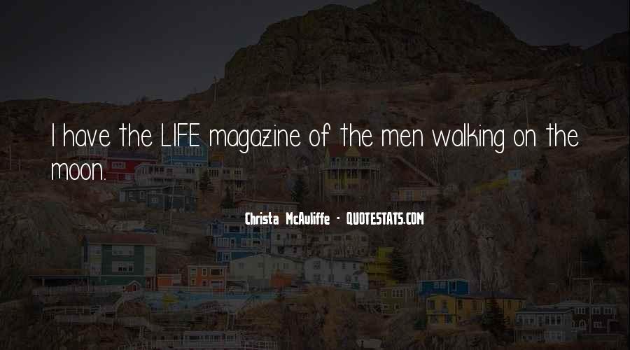 Christa Mcauliffe Quotes #78803