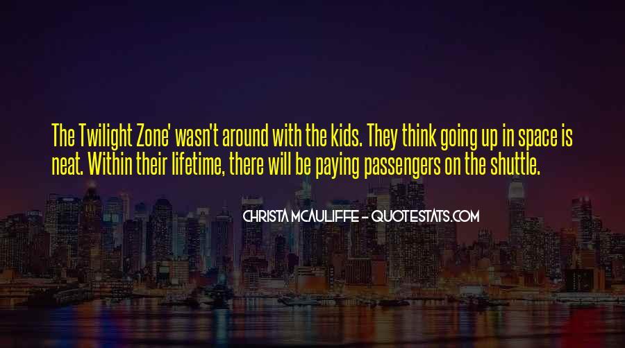 Christa Mcauliffe Quotes #986156