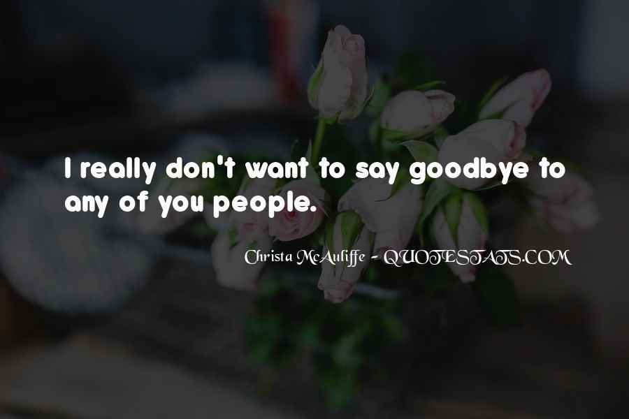 Christa Mcauliffe Quotes #995551
