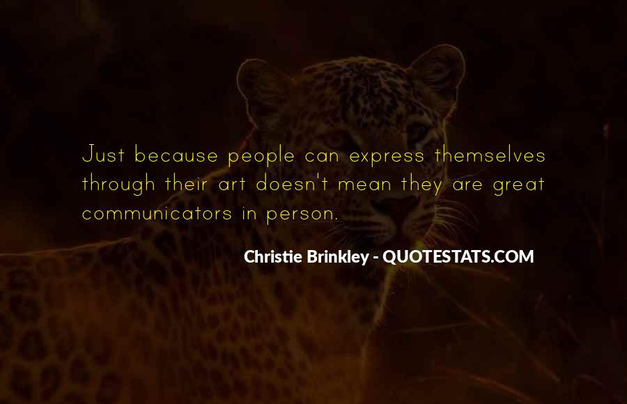 Christie Brinkley Quotes #1836477