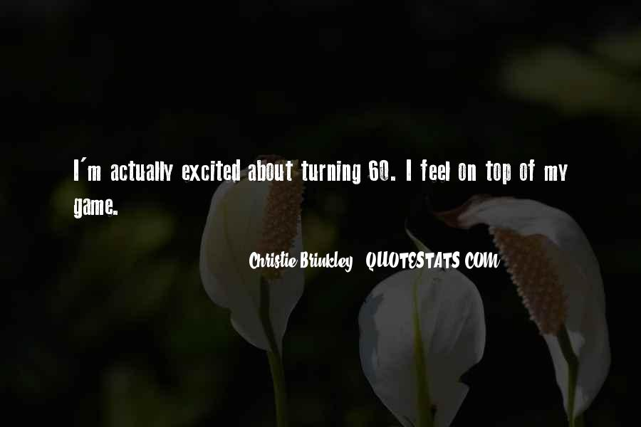 Christie Brinkley Quotes #267784