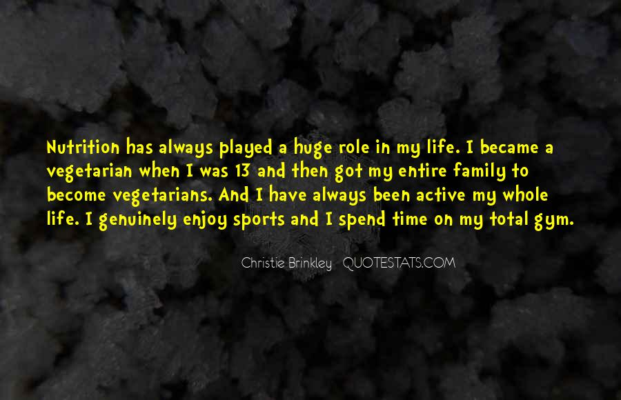 Christie Brinkley Quotes #331299