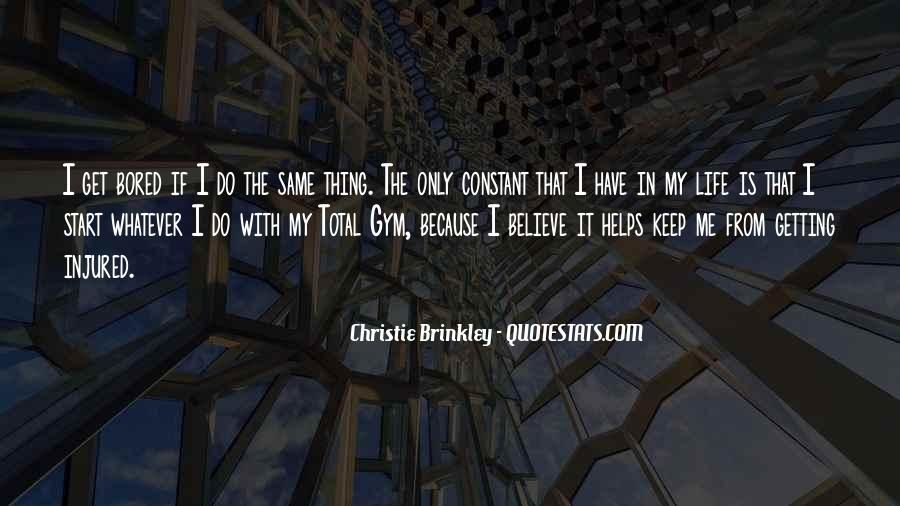 Christie Brinkley Quotes #455592