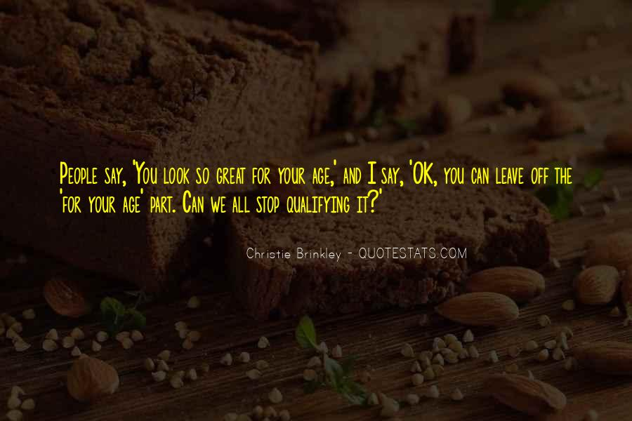 Christie Brinkley Quotes #636477