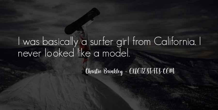 Christie Brinkley Quotes #76080