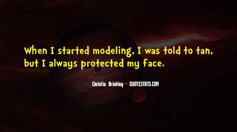 Christie Brinkley Quotes #855829