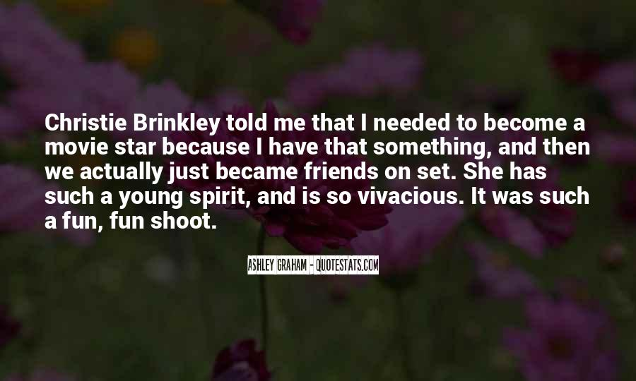 Christie Brinkley Quotes #996720