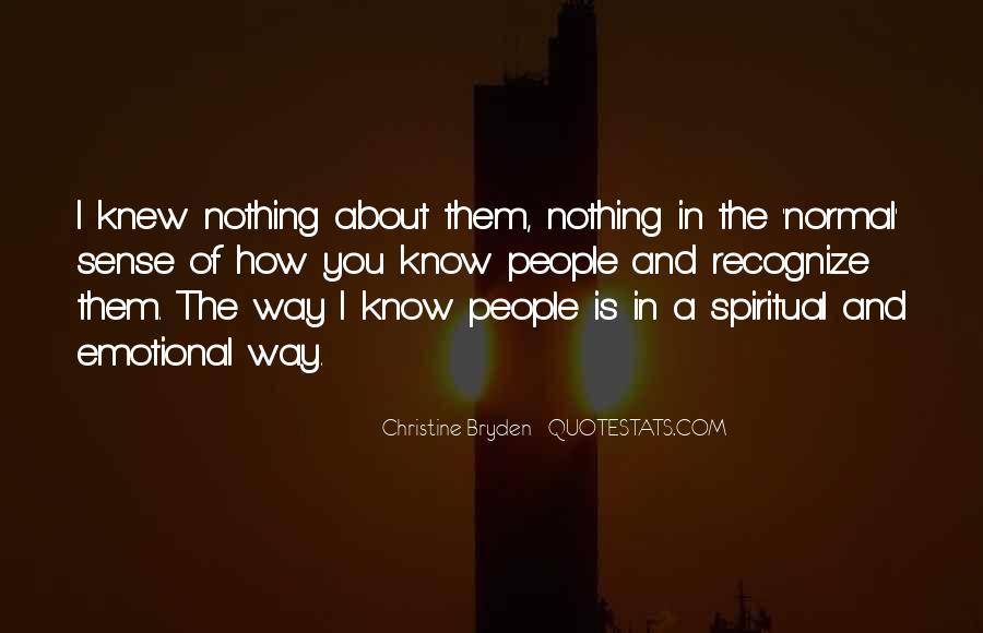 Christine Bryden Quotes #680918