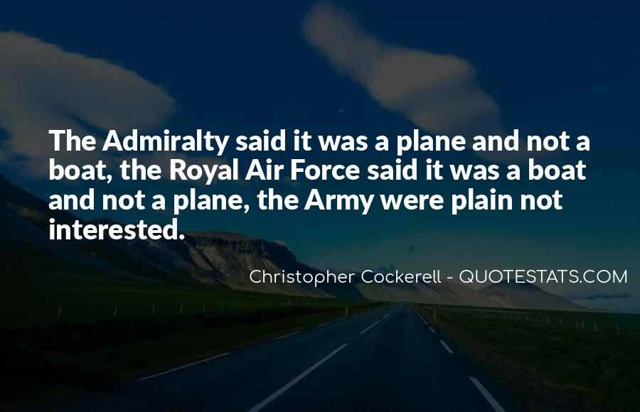 Christopher Cockerell Quotes #996729