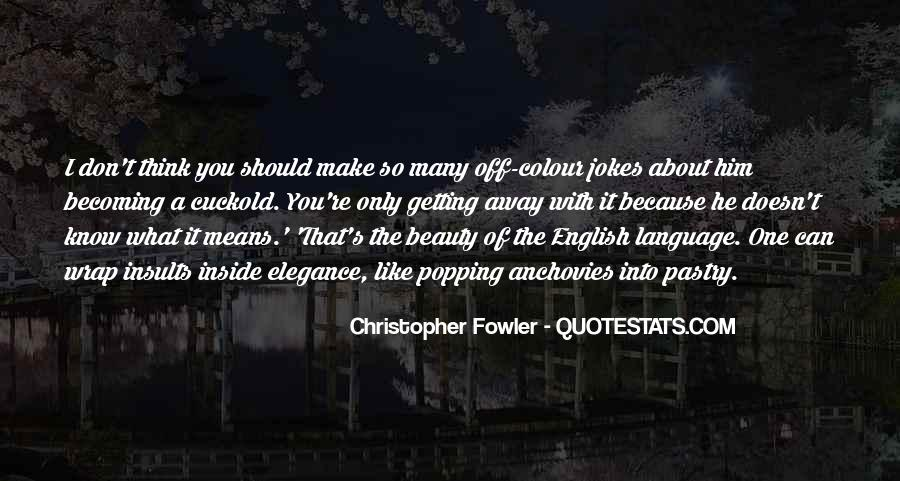 Christopher Fowler Quotes #1238744