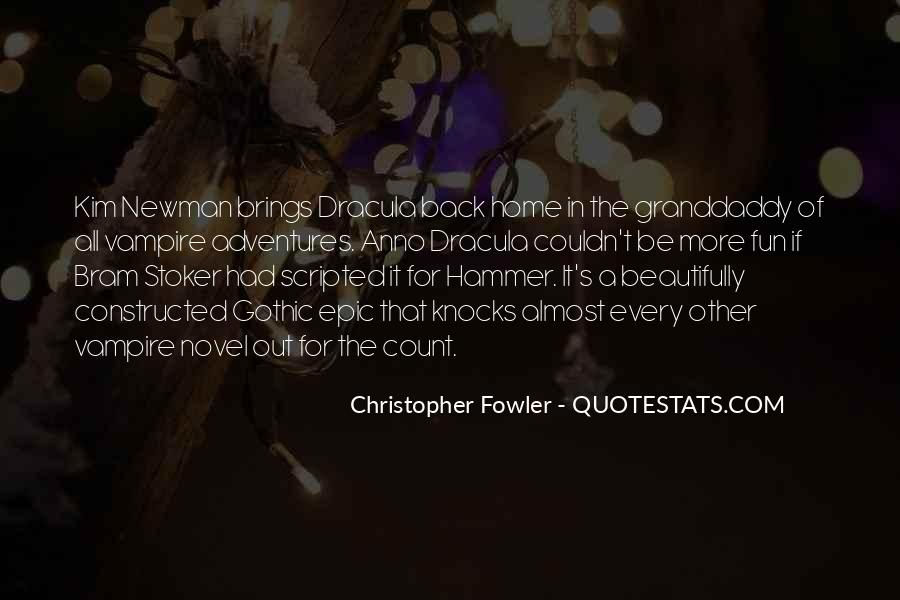 Christopher Fowler Quotes #1247588