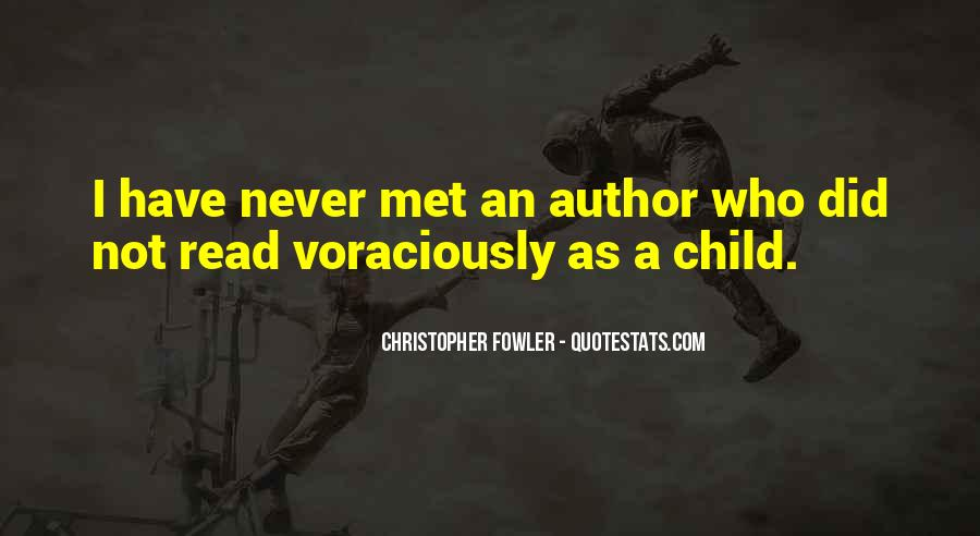 Christopher Fowler Quotes #134569