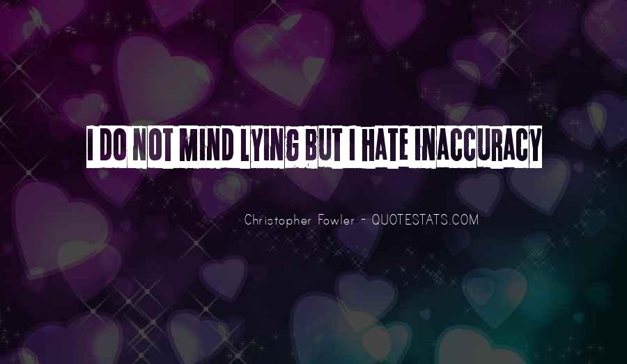 Christopher Fowler Quotes #1411460