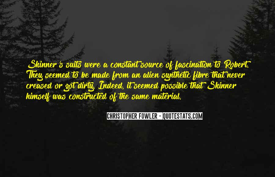 Christopher Fowler Quotes #1470137