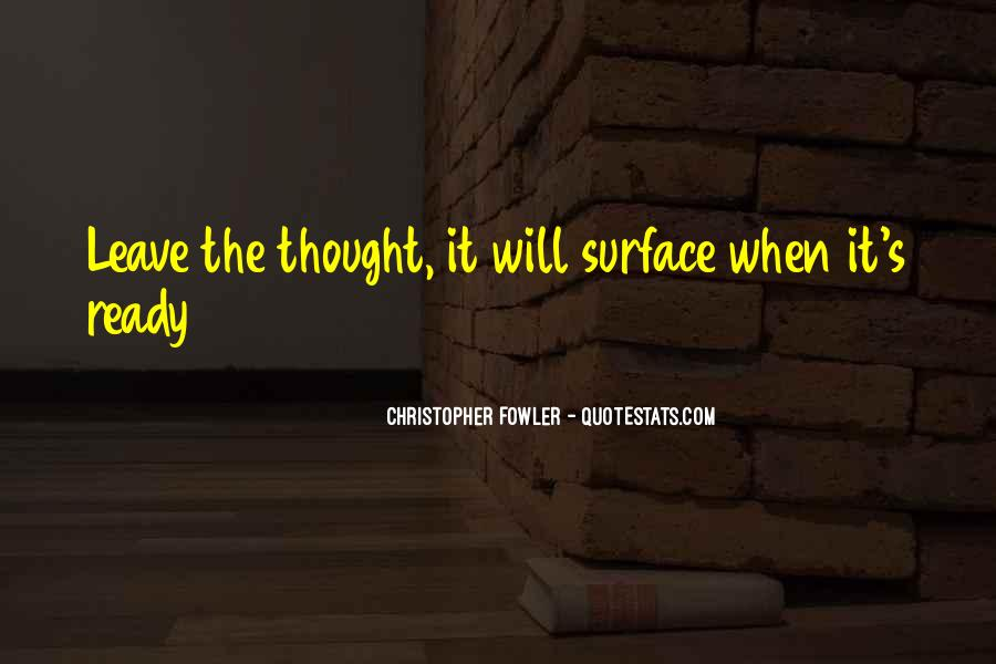 Christopher Fowler Quotes #1627157