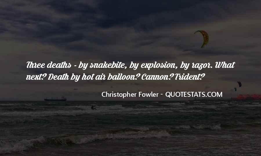 Christopher Fowler Quotes #164192