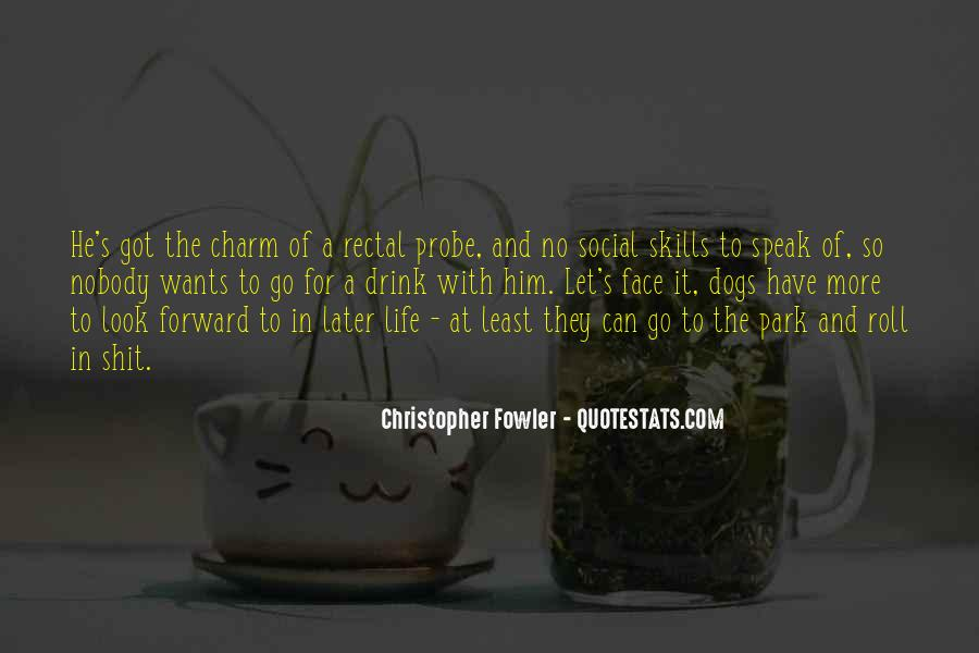 Christopher Fowler Quotes #1758429