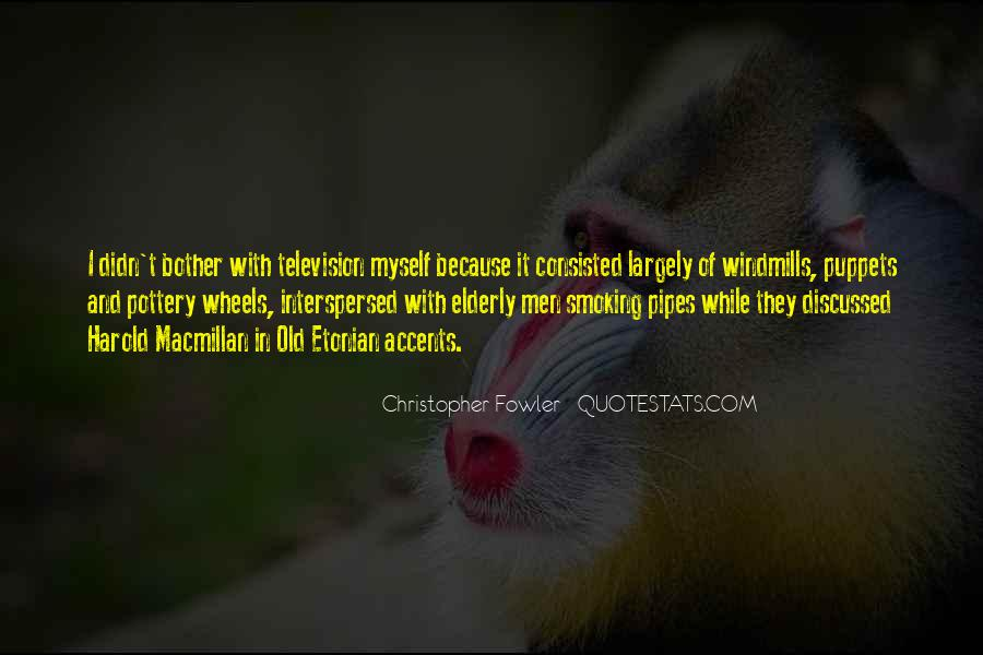 Christopher Fowler Quotes #1823745