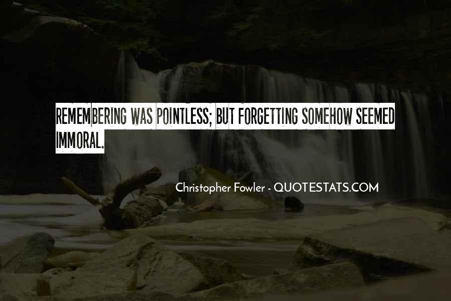 Christopher Fowler Quotes #374264