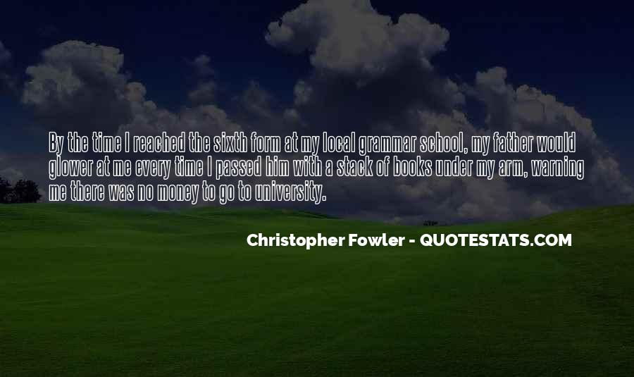 Christopher Fowler Quotes #400972