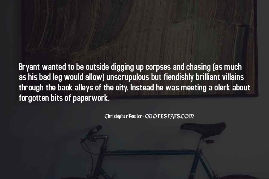 Christopher Fowler Quotes #405130