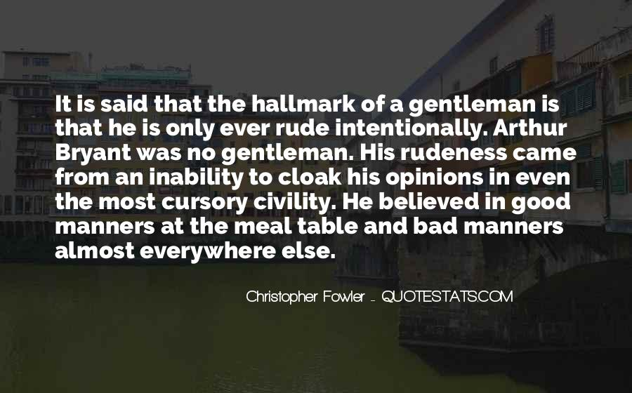 Christopher Fowler Quotes #500600
