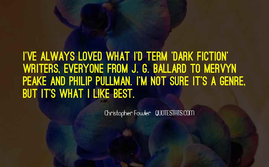 Christopher Fowler Quotes #600617