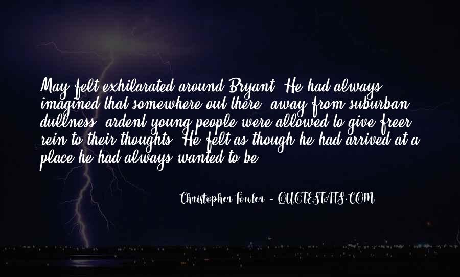 Christopher Fowler Quotes #67976