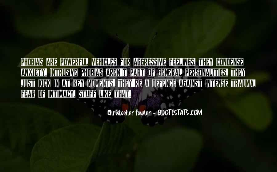 Christopher Fowler Quotes #679926