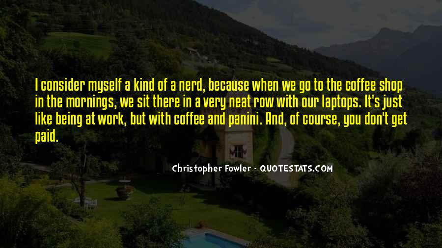 Christopher Fowler Quotes #708831