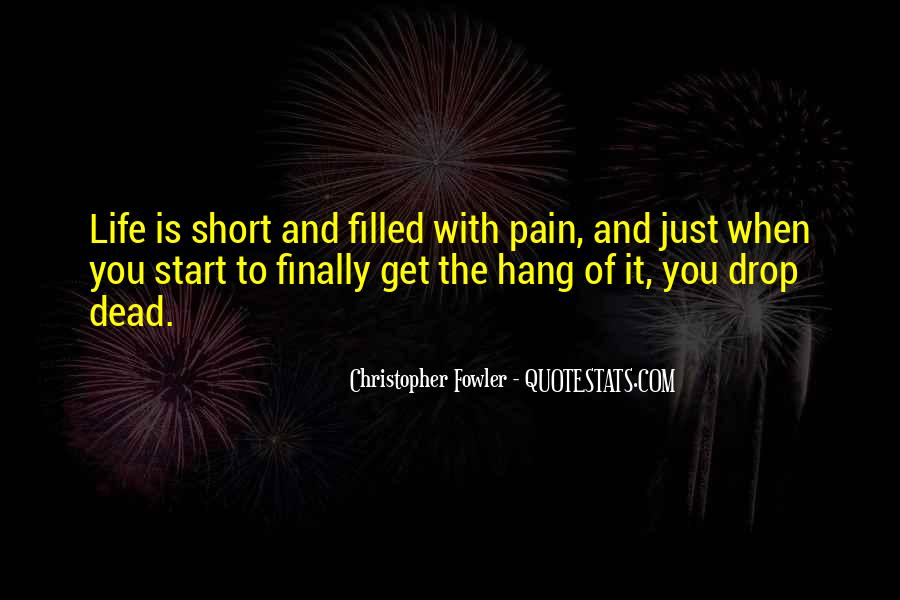 Christopher Fowler Quotes #961583