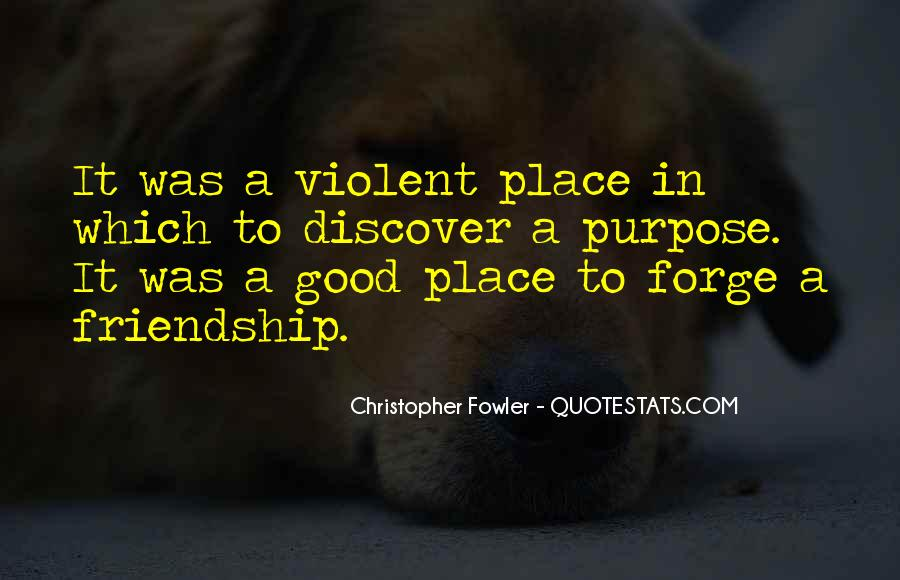 Christopher Fowler Quotes #990351