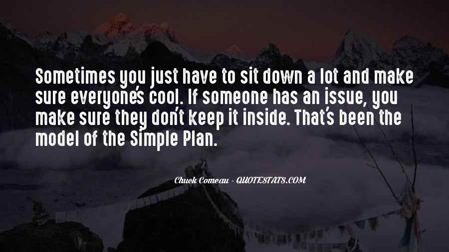 Chuck Comeau Quotes #1277244