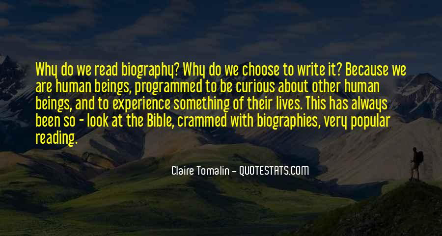 Claire Tomalin Quotes #1308781