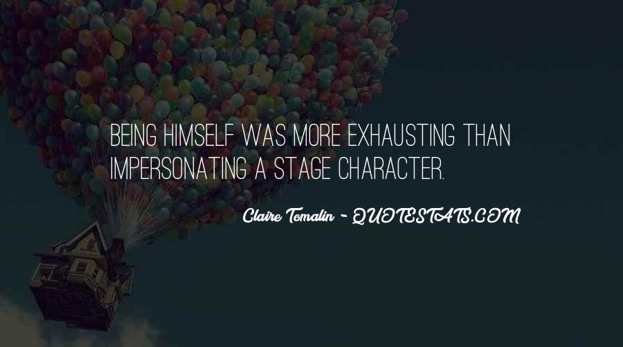 Claire Tomalin Quotes #132542