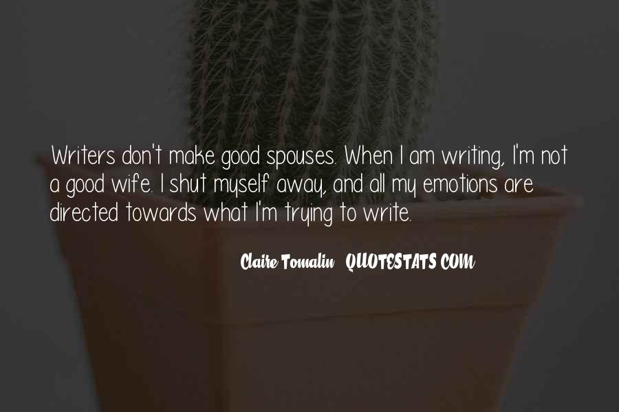 Claire Tomalin Quotes #1573916