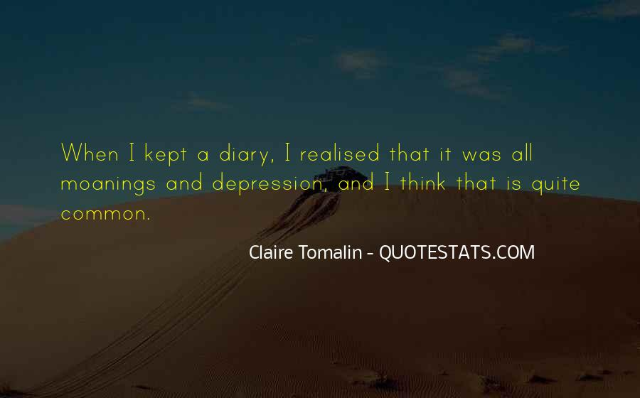 Claire Tomalin Quotes #1641453