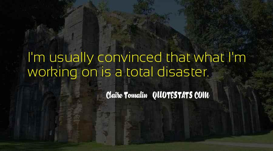 Claire Tomalin Quotes #1868811