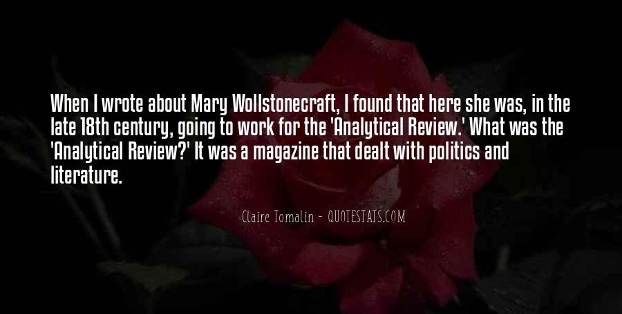 Claire Tomalin Quotes #406556