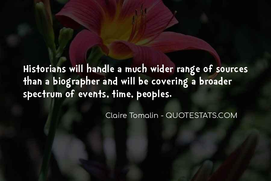 Claire Tomalin Quotes #608060