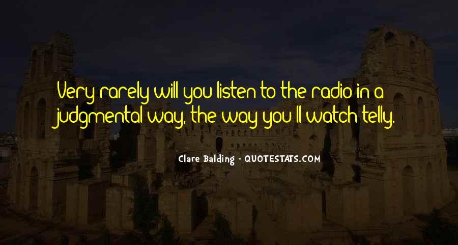 Clare Balding Quotes #1521959