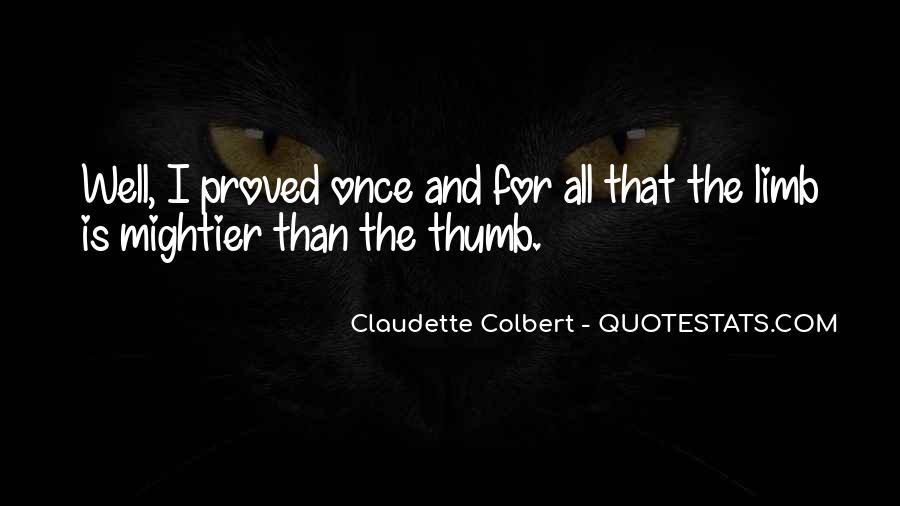 Claudette Colbert Quotes #1818887