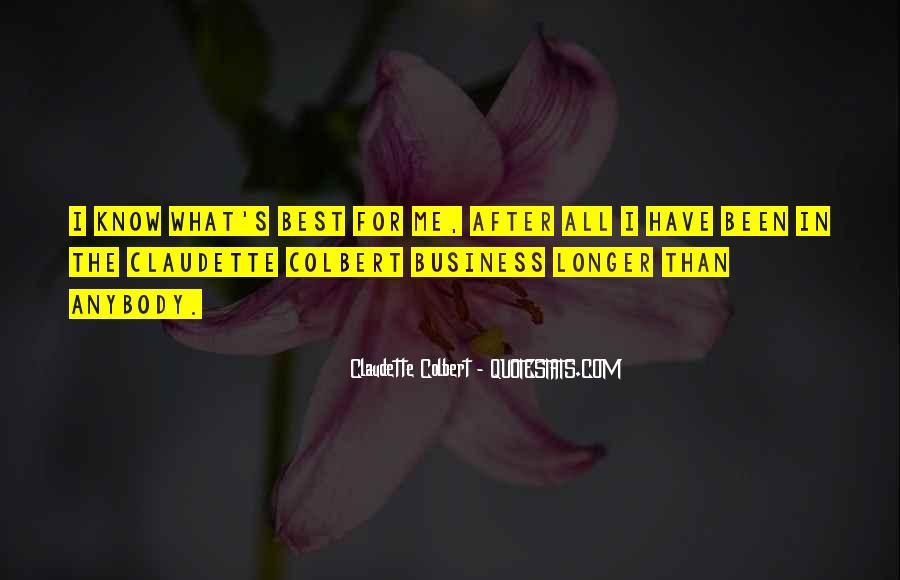 Claudette Colbert Quotes #1836570