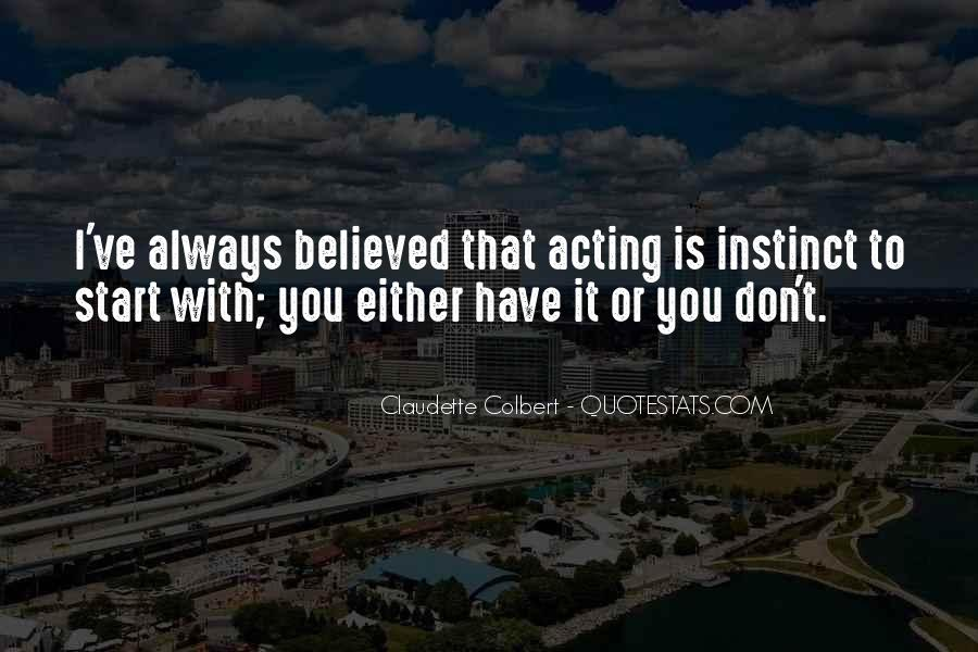 Claudette Colbert Quotes #42353