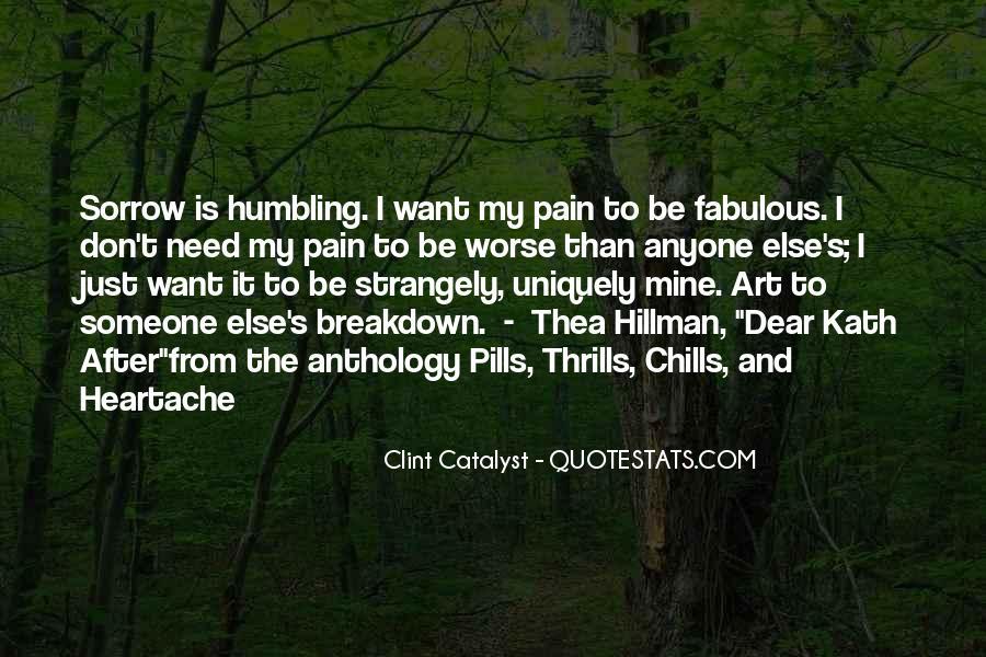 Clint Catalyst Quotes #1855035