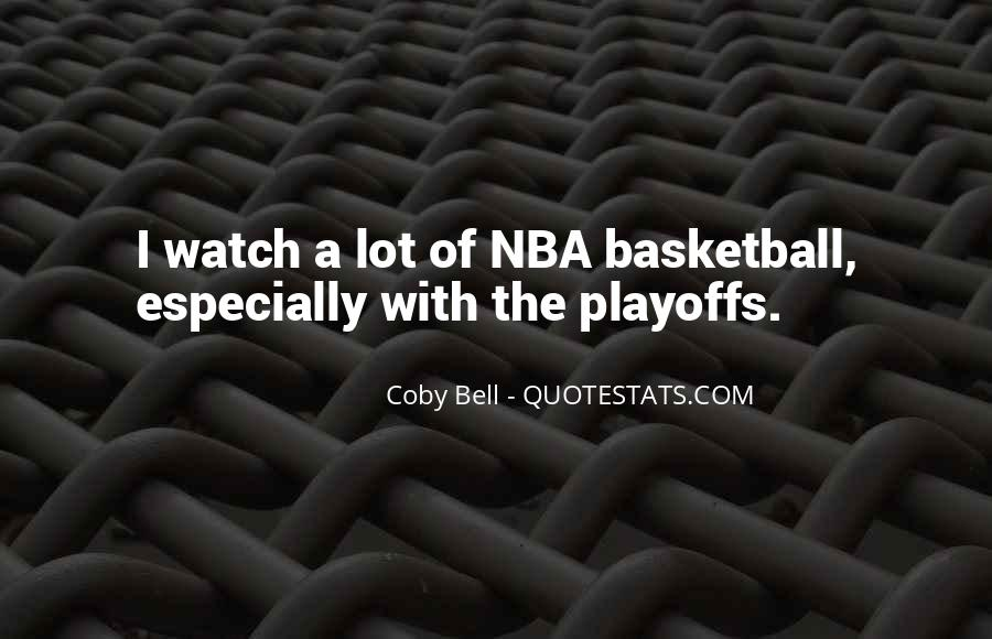 Coby Bell Quotes #366062
