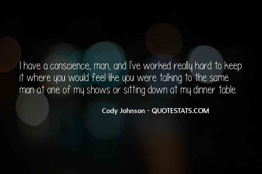 Cody Johnson Quotes #1488937